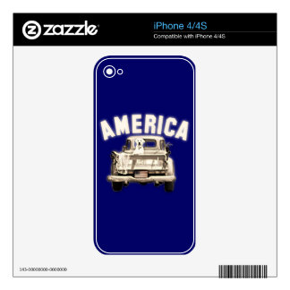 'AMERICA' iPhone Skin Skins For The iPhone 4S
