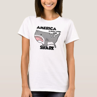 America is a Shark (other styles now available) T-Shirt