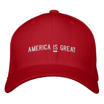 America IS Great Anti Trump Hat
