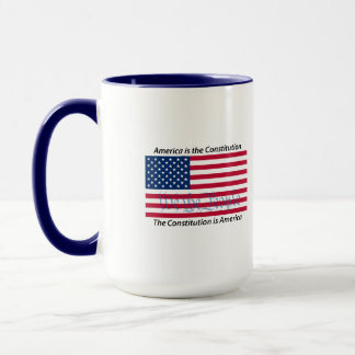 America is the Constitution 2 mug