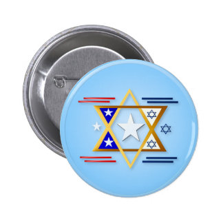 America-Israel Buttons