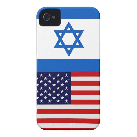 America/Israel Flag iPhone 4 Case