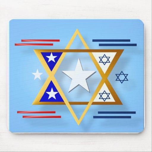 America-Israel  Mousepad