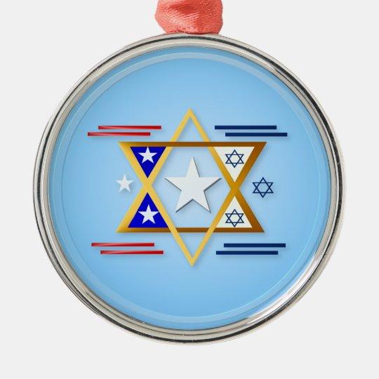 America-IsraelOrnaments Metal Ornament