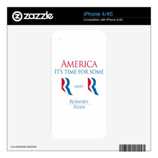 America it's time skin for the iPhone 4