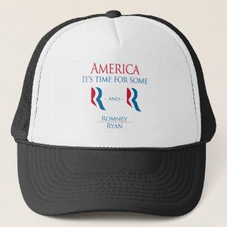 America it's time trucker hat