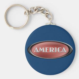 America Keychain