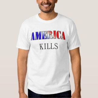 America Kills T-shirt