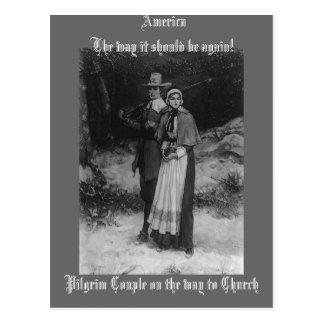 ¡América la manera debe estar otra vez Tarjeta Postal