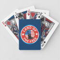 America Land of the Free Bicycle Poker Cards