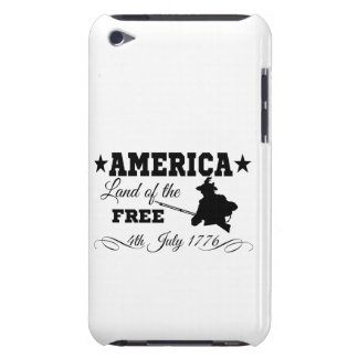 America - Land of the free iPod Touch Cover