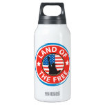 America Land of the Free 10 Oz Insulated SIGG Thermos Water Bottle