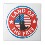 America Land of the Free Tiles