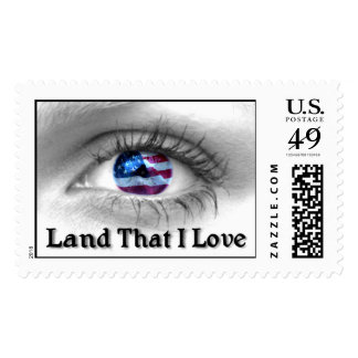 America - Land That I Love - LARGE SIZE Postage Stamps
