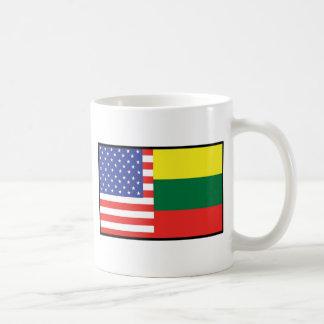 America Lithuania Coffee Mug