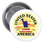 América los E.E.U.U. Pins