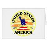 América los E.E.U.U. Tarjetón