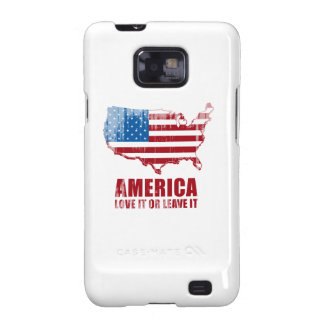 America. Love it or Leave it. Faded.png Galaxy S2 Cover