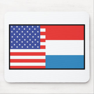 America Luxemborg Mouse Pad