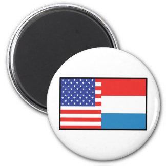 America Luxemborg Refrigerator Magnet