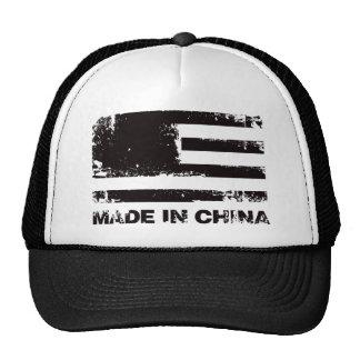 America Made in China - Black Trucker Hat
