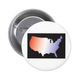 America Map full size Button