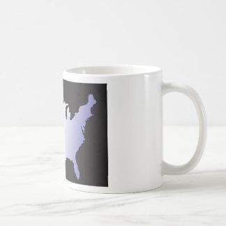 America Map full size Coffee Mug