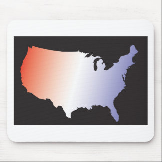 America Map full size Mouse Pad