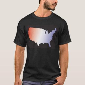 America Map full size T-Shirt