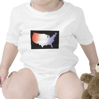 America Map full size T-shirts