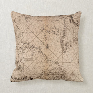 America Map - Throw Pillow