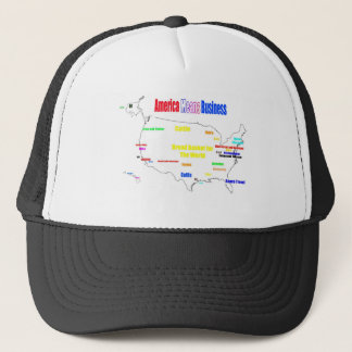 America Means Business Trucker Hat