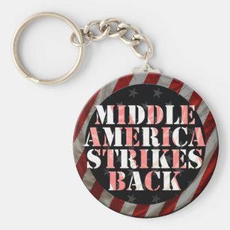 ¡América media pega detrás! llavero