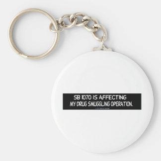 America/Mexico/Freedom Keychain