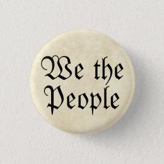 "America Mini Button ""We the People"""