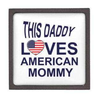 America mommy design gift box