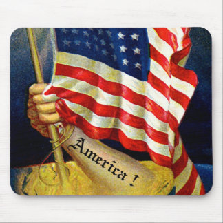 America ! mouse pad