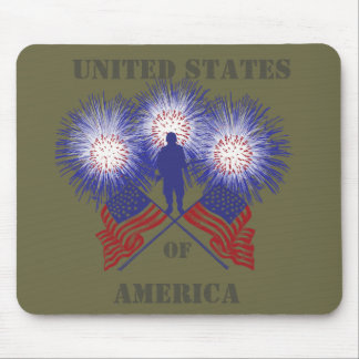 America Mouse Pad