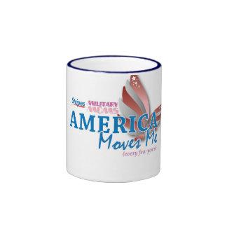 America Moves Me Mug