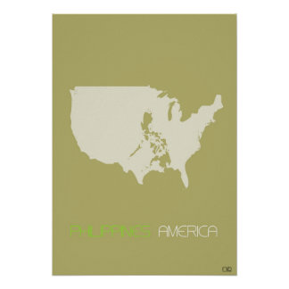 America multicultural print
