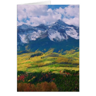 America nature photography card