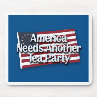 America Needs Another Tea Party Mouse Mats