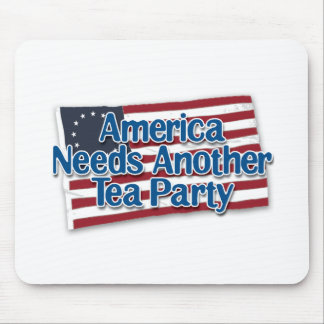 America Needs Another Tea Party Mouse Mat
