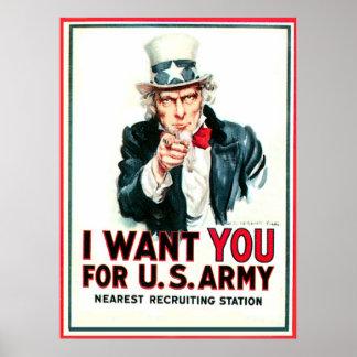 America Needs - Poster