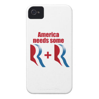 AMERICA NEEDS SOME R AND R.png iPhone 4 Cover