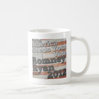 America Needs Your Vote Classic White Coffee Mug