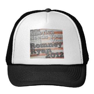 America Needs Your Vote Trucker Hats
