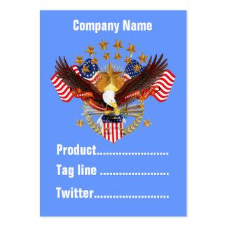 América negocio no olvidado Vert de 2 tarjetas. Tarjeta De Visita