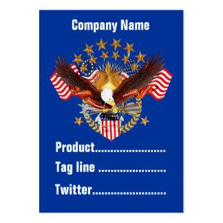 América negocio no olvidado Vert de 2 tarjetas Tarjetas De Negocios