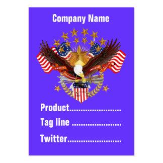 América negocio no olvidado Vert de 2 tarjetas Tarjeta De Visita